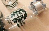 Frasco de vidro portátil por atacado, empacotamento de vidro vazio de Starbuck, garrafa de água