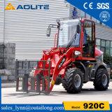 販売のための低価格の油圧中国のコンパクトな車輪のローダー