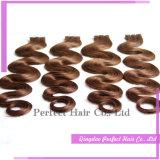 Estensioni brasiliane dei capelli del nastro dissipate doppio dei capelli umani di 100%