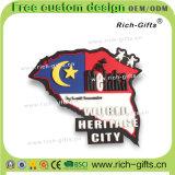 Магниты холодильника PVC продуктов сувенира подгоняли выдвиженческие подарки Малайзию (RC-MA)