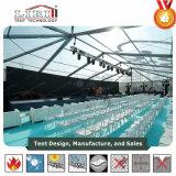 Алюминий и стороны PVC Multi шатры используемые для напольного свадебного банкета, большие шатры случаев