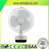 Heißer neuer Entwurfs-Tischventilator mit bestem Quality-16inch nachladbarem oszillierendem Solarventilator