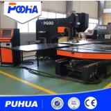 Metallplattenloch CNC-lochende Maschine mit führender Plattform