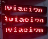 Afficheur LED rouge Semi-Extérieur de bus des textes de la qualité P8mm
