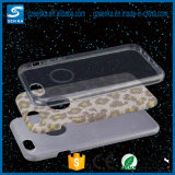 Caixa original do telefone da cópia TPU+PC do leopardo do projeto da forma para a tampa do telefone 6s do iPhone 6
