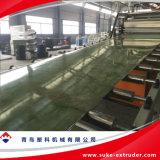 PVC 대리석 장 생산 밀어남 압출기 선