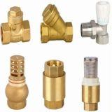 Garnitures de pipe principales rondes en laiton de code de qualité