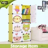 DIY faltender Kind-Aufbewahrungsbehälter-Großverkauf-Plastikdienstschrank