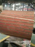 Bobina de acero PPGI del color del precio competitivo para la hoja del material para techos