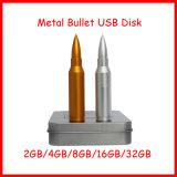 USB Pendrive 금속 Thumbdrive 플래시 메모리 탄알 USB 섬광 드라이브