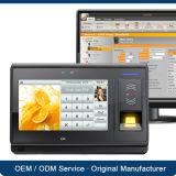 Grandes jogos biométricos do controle de acesso da porta da impressão digital da tela de toque RFID com controle do fechamento magnético
