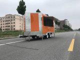 Carro 2017 del alimento de las compras Outdoor Food Van Truck Mobile de la innovación de China nuevo para el helado