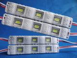 Módulo impermeável do diodo emissor de luz da injeção da venda quente DC12V 0.72W 5730