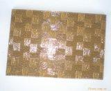 Vetro di reticolo di bambù tessuto bronzo