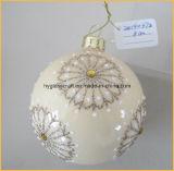 Hand - de gemaakte Ambachten van het Glas van Kerstmis voor de Decoratie van Kerstmis