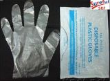 HDPEの使い捨て可能な手袋