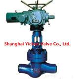 De elektrische Klep van de Bol van China van het Type van Flens (J941)