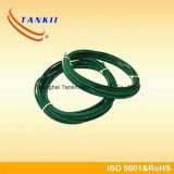 Groen kabeltype K van het kleurenthermokoppel met roestvrij staal gevlechte schede