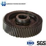 CT5005 Engrenage cylindrique à engrenage à engrenage en métal à forgeage de précision de haute qualité