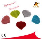 Trousseau de clés r3fléchissant pour le réflecteur de sûreté d'enfants, réflecteur DEL Kw106 de route
