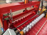 Toiture et roulis de maçonnage formant la machine