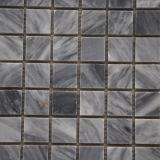 Prezzo poco costoso grigio di marmo a forma di delle mattonelle di mosaico di Carrara del bello quadrato di stile