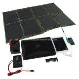 saco solar Foldable do carregador 5W-150W, banco da potência solar, painéis solares portáteis do USB