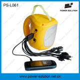 Luz solar da lanterna do diodo emissor de luz com a bateria 4500mAh recarregável