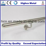 Corchete rectangular de la barandilla de la pared del acero inoxidable