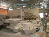 ガラス繊維の製品の作成のための噴霧機械