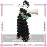 中国の深い波のバージンの毛のRemyの人間の毛髪の拡張