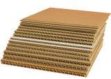 Fluting Machine van het Document van het Document van Kraftpapier van de Machine van het Document van het Karton van het Document de Golf