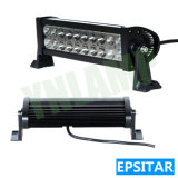 60W IP67 LEIDENE 11.5inch Lichte Staaf met Epistar LEDs voor Vrachtwagen