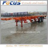 40FT de Chassis van de vrachtwagen, de Vrachtwagen van de Aanhangwagen van 3 Assen voor Vervoer