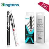 Airflow Adjustable 2.0ml Clearomizer를 가진 Kingtons EGO Vape Pen