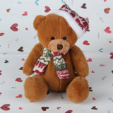 Cute Three Color Teddy Bear Plush Animal recheado brinquedo macio