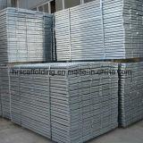 Tablón de acero galvanizado construcción del andamio (prolongación del andén)