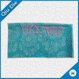 Escritura de la etiqueta rica grande de la impresión en color de Digitial para la decoración