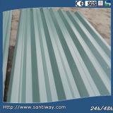 ISO Sheel de acero trapezoidal para la pared y el material para techos