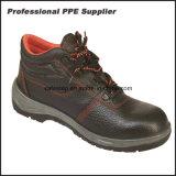 Обувь безопасности пальца ноги двойной плотности дешевая стальная