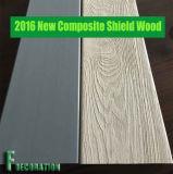 2016 Decking en bois en plastique de terrasse du composé WPC d'écran protecteur neuf