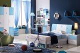 青を持つ男の子のためのMDFが付いているホーム家具の寝室セット