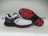 日本中型の幅のSoftspikesの速いねじれの軽量の男子ゴルフ靴