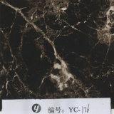 Yingcai 1m Breiten-Ebenen-grauer Marmorkubikdrucken-Film