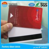 Cmyk a estampé la carte en plastique de la puce IC d'affaires de PVC
