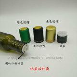 Botellas de cristal redondas cuadradas vendedoras calientes del aceite de oliva