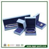 Коробка ювелирных изделий упаковки Nubuck характеристик кожаный