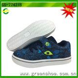 Neuer Entwurfs-Kinder Breathable PU-handgemachter Komfort-beiläufige Schuhe