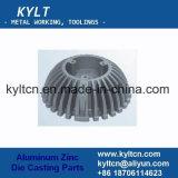 Moldeado a presión del aluminio del moldeado a presión del aire de enfriamiento personalizado para el radiador de la maquinaria