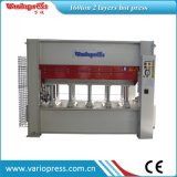 Veneer hidráulico Hot Press Machine para Doors